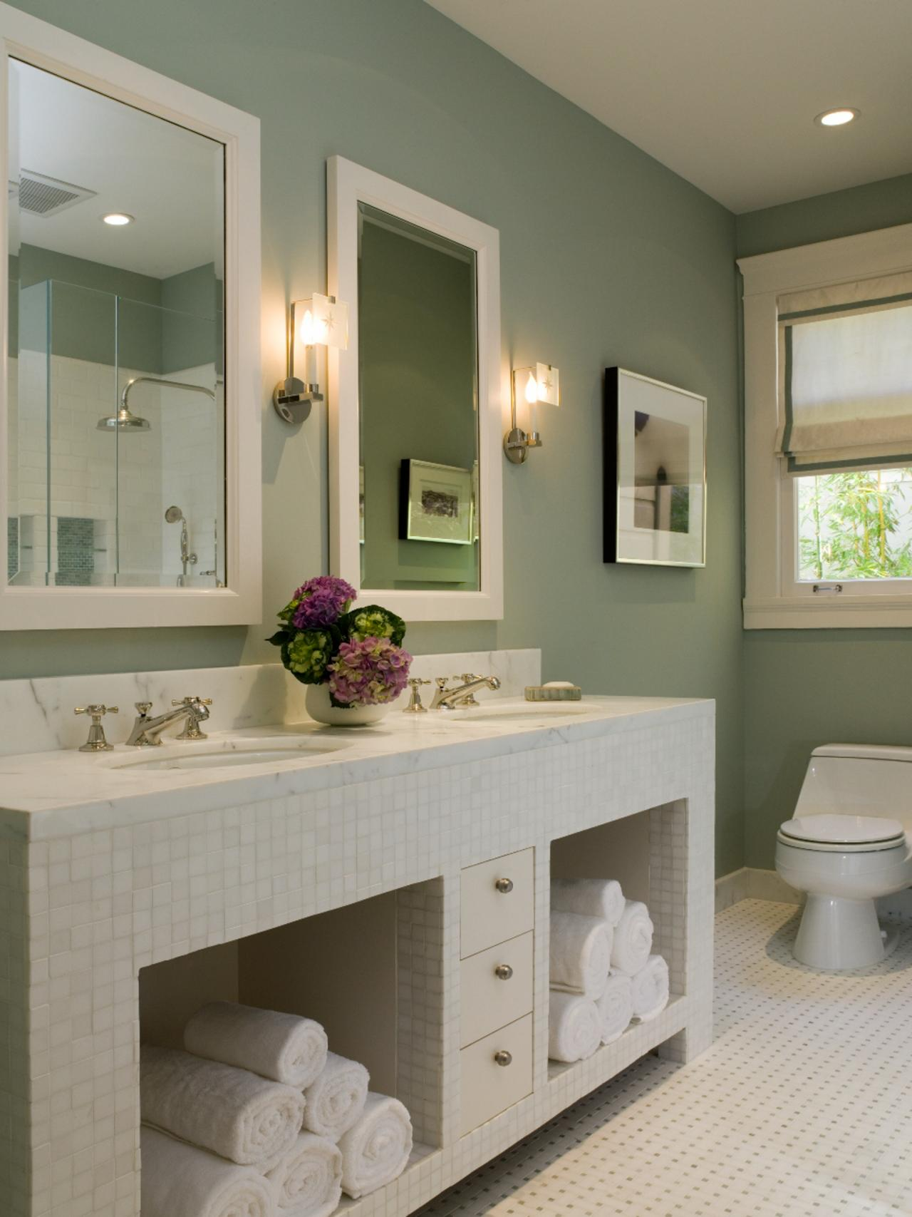 bathroom colors for 2020 - 735×919